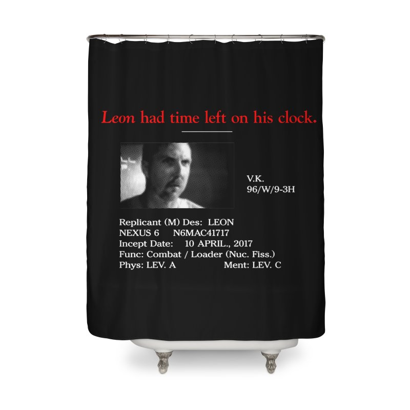 Time Left Home Shower Curtain by FWMJ's Shop