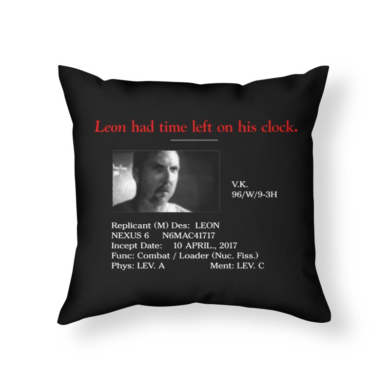 Time Left Home Throw Pillow by FWMJ's Shop