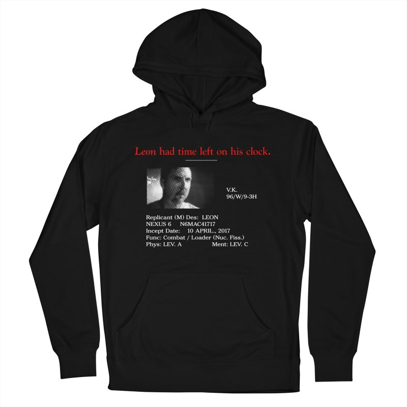 Time Left Men's Pullover Hoody by FWMJ's Shop