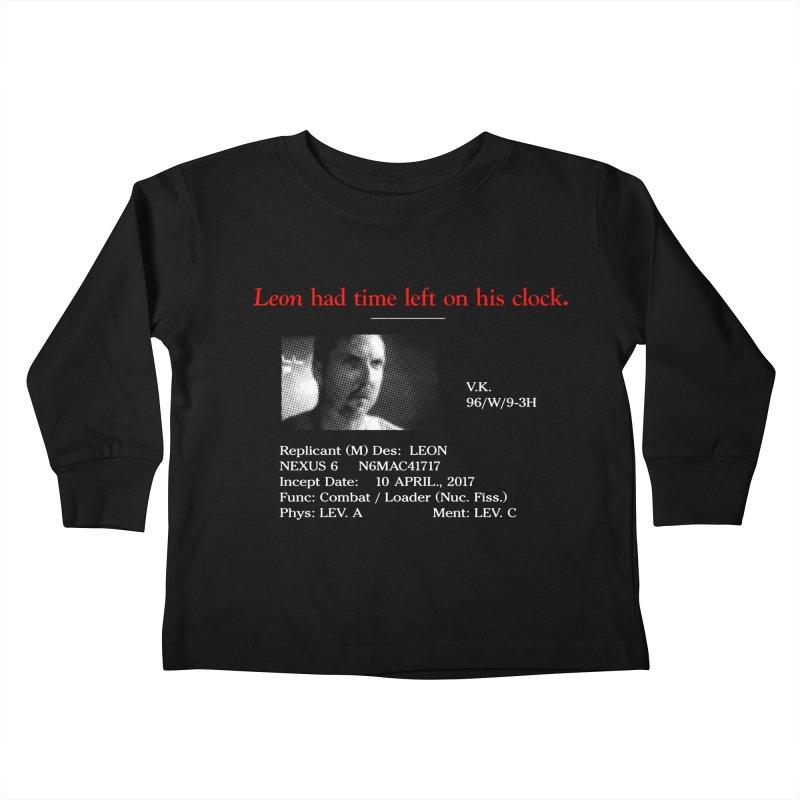Time Left Kids Toddler Longsleeve T-Shirt by FWMJ's Shop