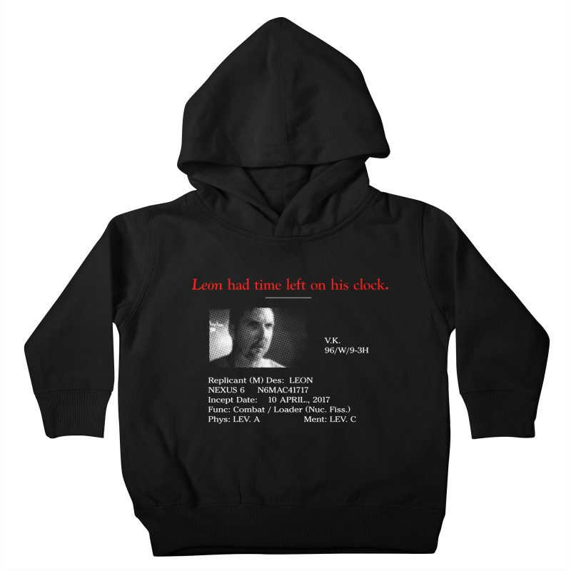 Time Left Kids Toddler Pullover Hoody by FWMJ's Shop