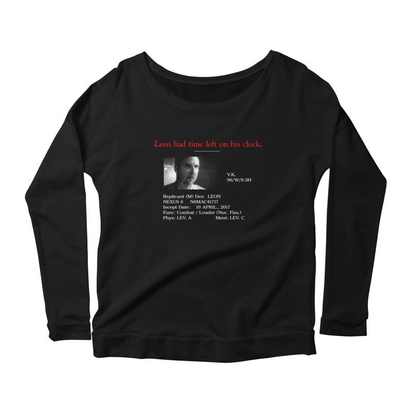 Time Left Women's Scoop Neck Longsleeve T-Shirt by FWMJ's Shop
