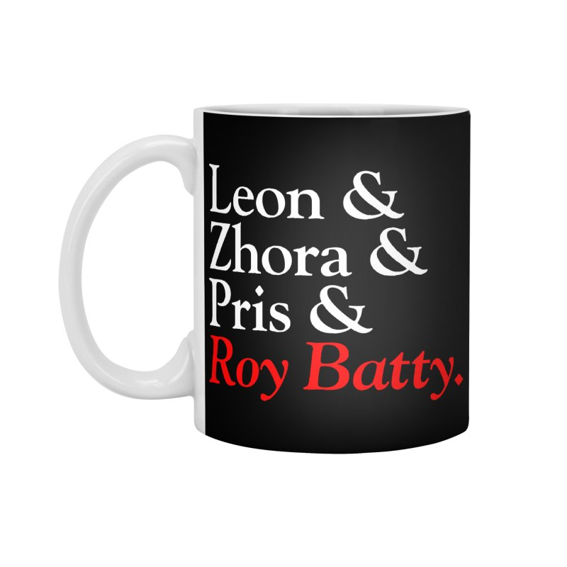 Roy & The Replicants Accessories Mug by FWMJ's Shop