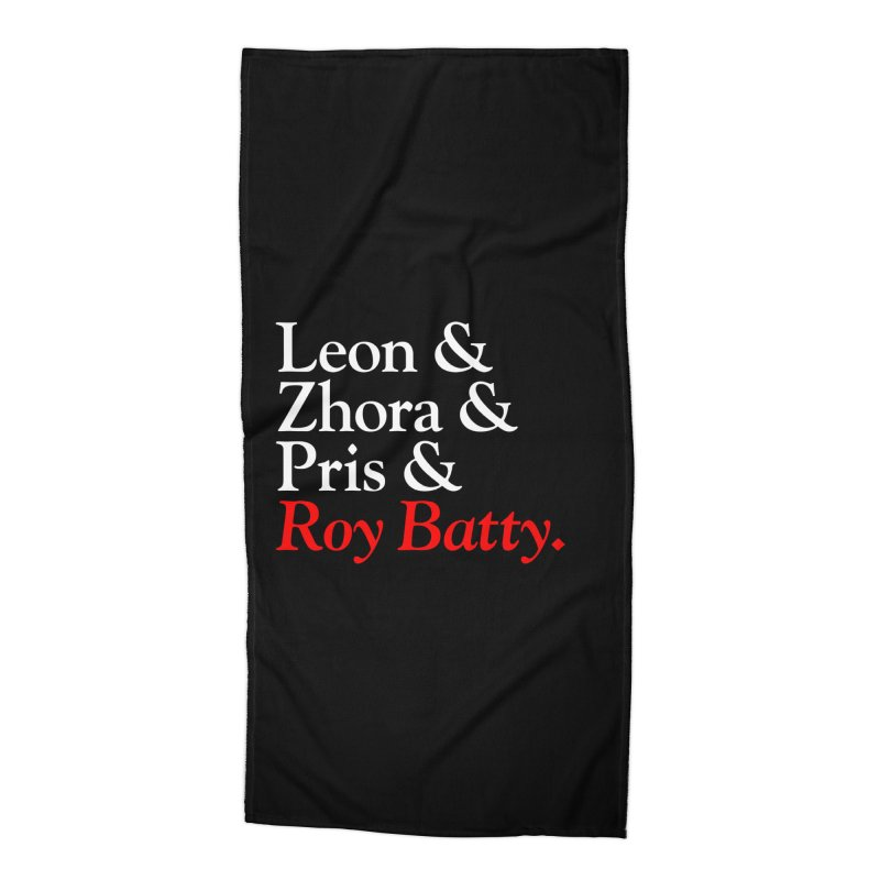 Roy & The Replicants Accessories Beach Towel by FWMJ's Shop