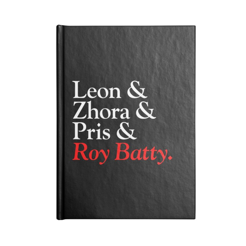 Roy & The Replicants Accessories Notebook by FWMJ's Shop