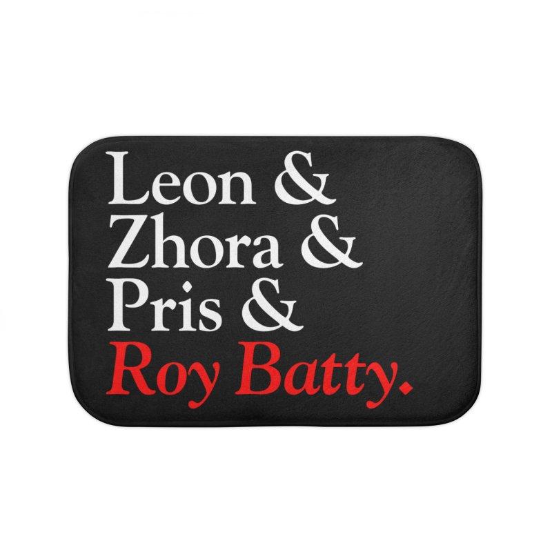 Roy & The Replicants Home Bath Mat by FWMJ's Shop