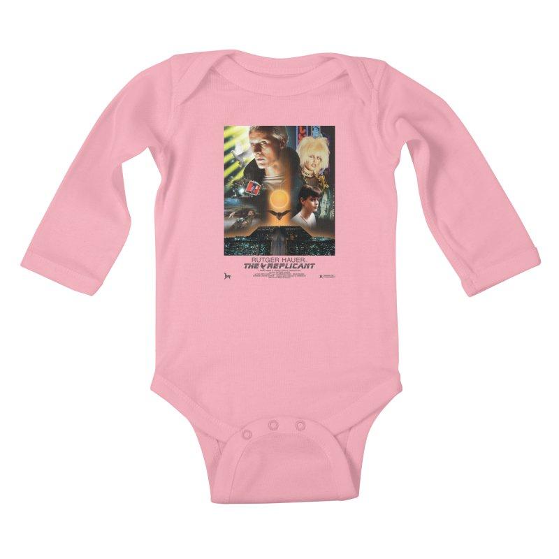 Starring RUT-GAWD HAUER Kids Baby Longsleeve Bodysuit by FWMJ's Shop