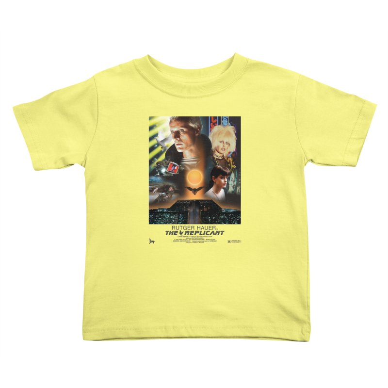 Starring RUT-GAWD HAUER Kids Toddler T-Shirt by FWMJ's Shop