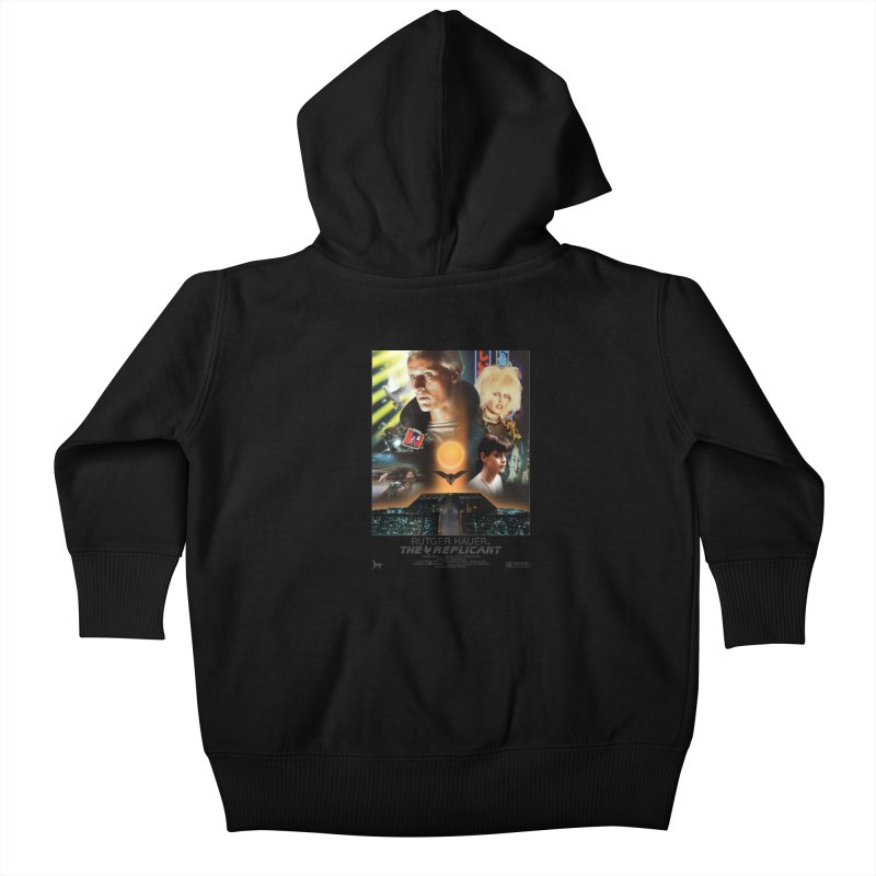 Starring RUT-GAWD HAUER Kids Baby Zip-Up Hoody by FWMJ's Shop