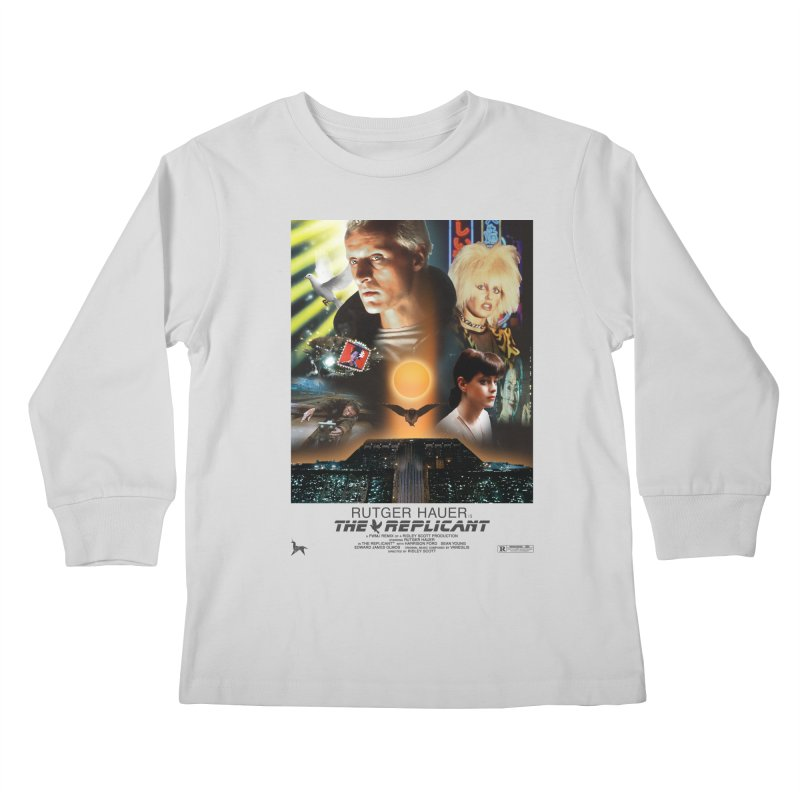 Starring RUT-GAWD HAUER Kids Longsleeve T-Shirt by FWMJ's Shop