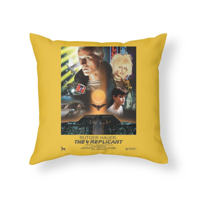 Starring RUT-GAWD HAUER Home Throw Pillow by FWMJ's Shop