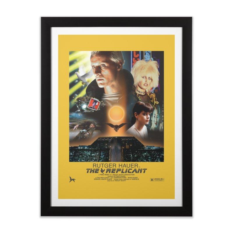 Starring RUT-GAWD HAUER Home Framed Fine Art Print by FWMJ's Shop