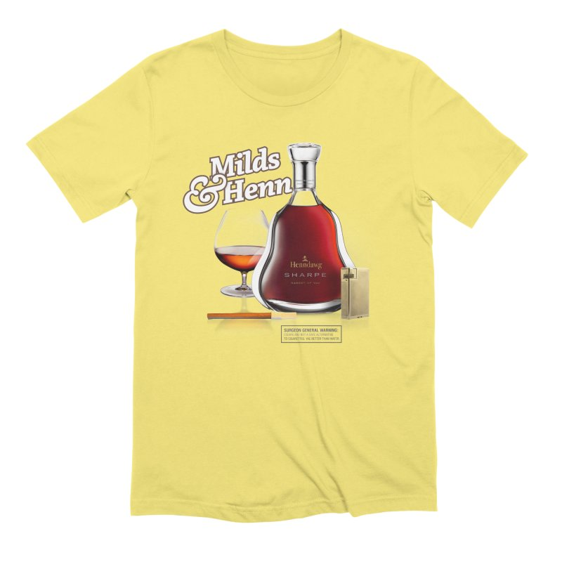 Milds & Henndawg Men's T-Shirt by FWMJ's Shop