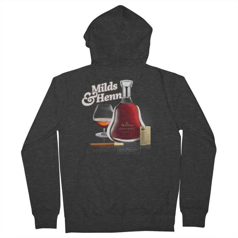 Milds & Henndawg Men's Zip-Up Hoody by FWMJ's Shop
