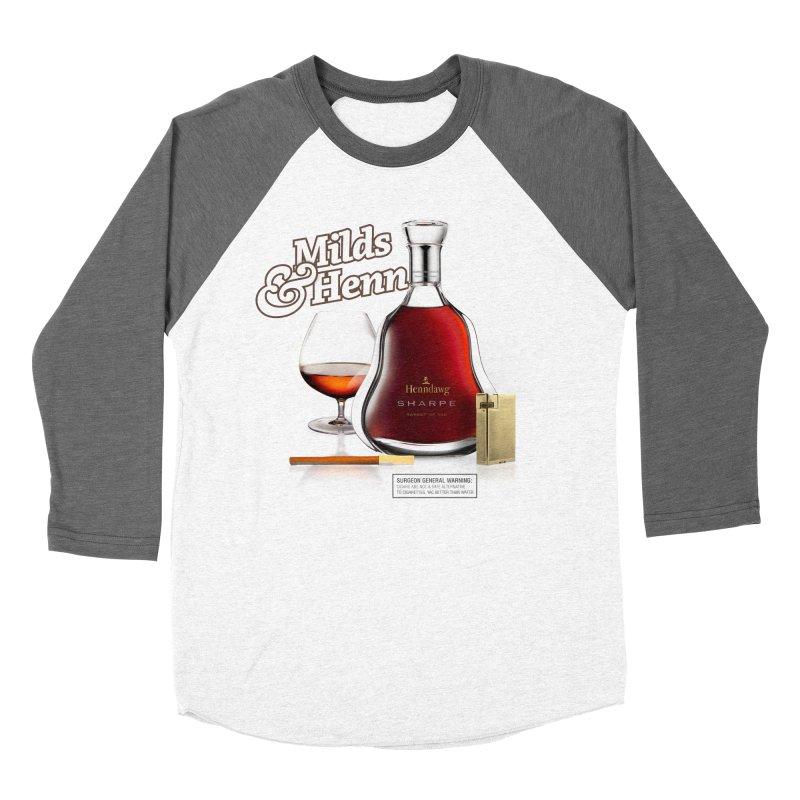 Milds & Henndawg Women's Baseball Triblend Longsleeve T-Shirt by FWMJ's Shop