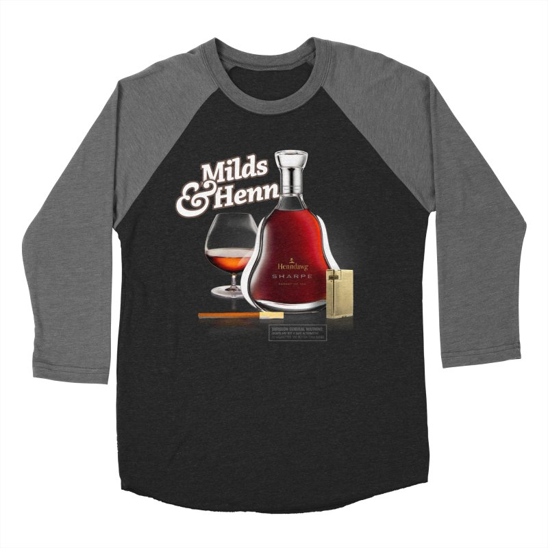 Milds & Henndawg Men's Baseball Triblend T-Shirt by FWMJ's Shop