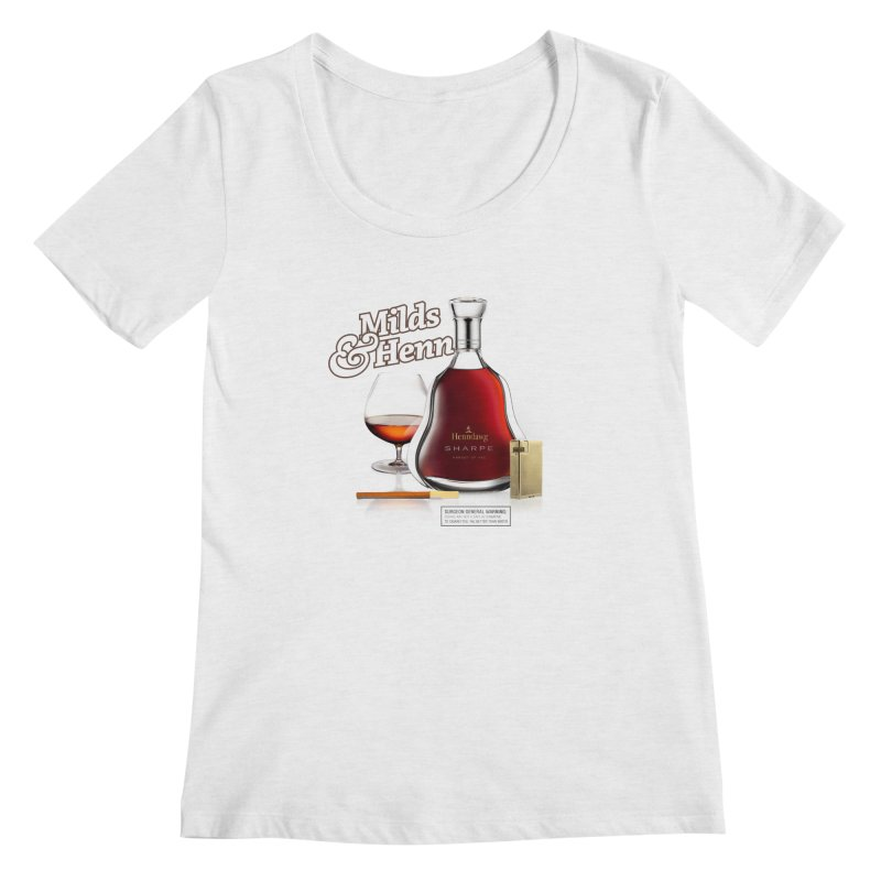 Milds & Henndawg Women's Scoop Neck by FWMJ's Shop