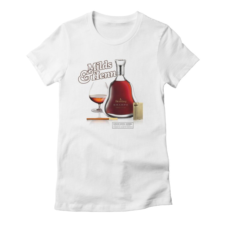 Milds & Henndawg Women's Fitted T-Shirt by FWMJ's Shop