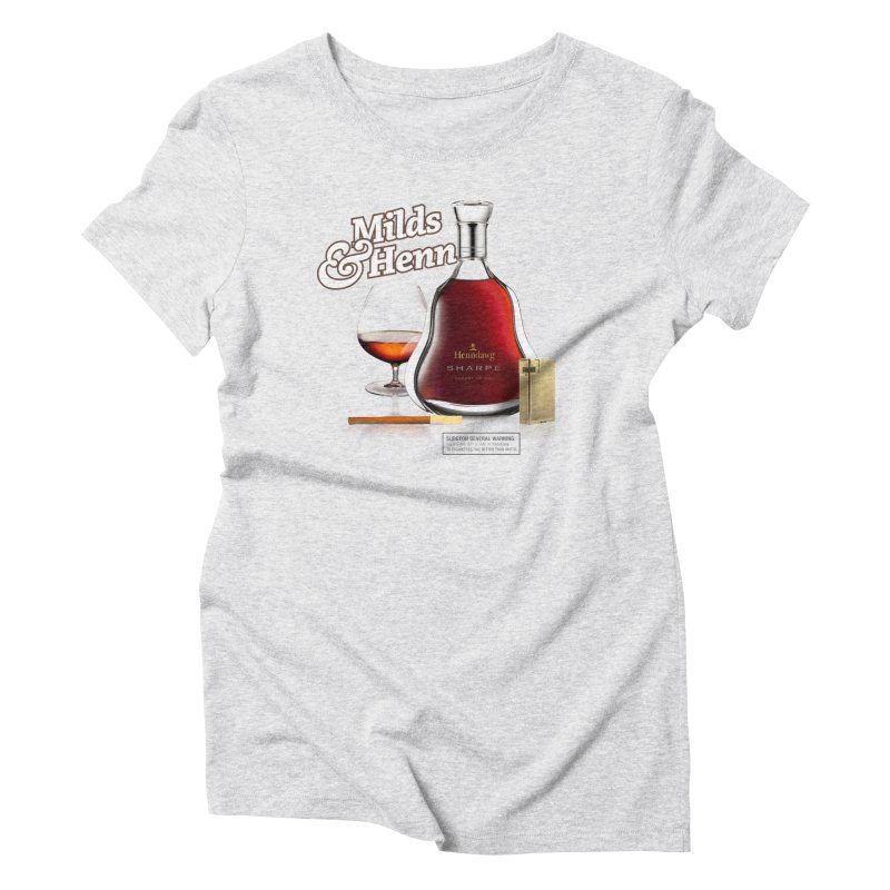 Milds & Henndawg Women's Triblend T-shirt by FWMJ's Shop