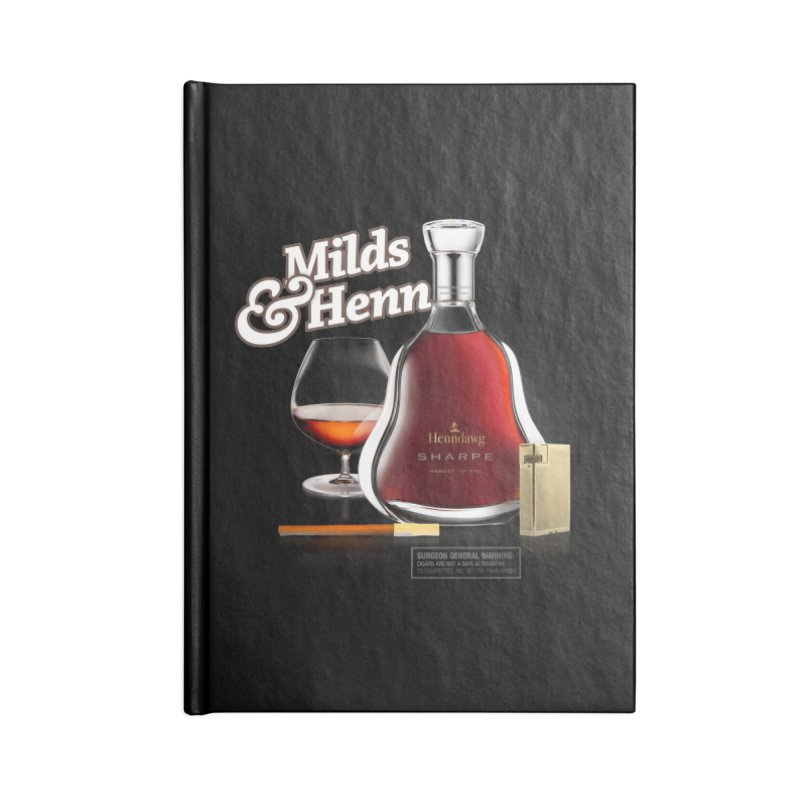 Milds & Henndawg Accessories Notebook by FWMJ's Shop