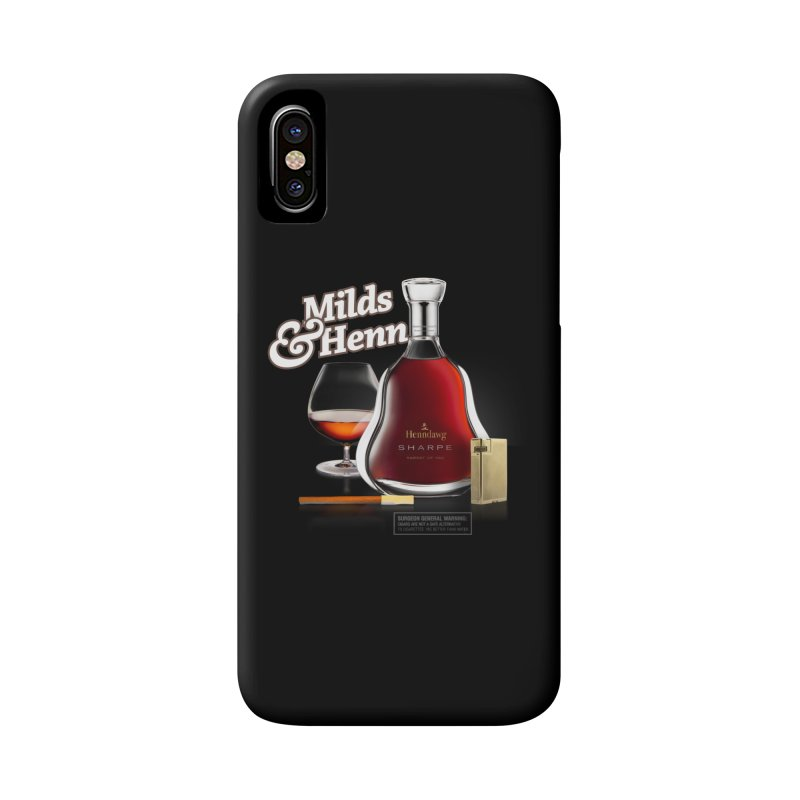 Milds & Henndawg Accessories Phone Case by FWMJ's Shop