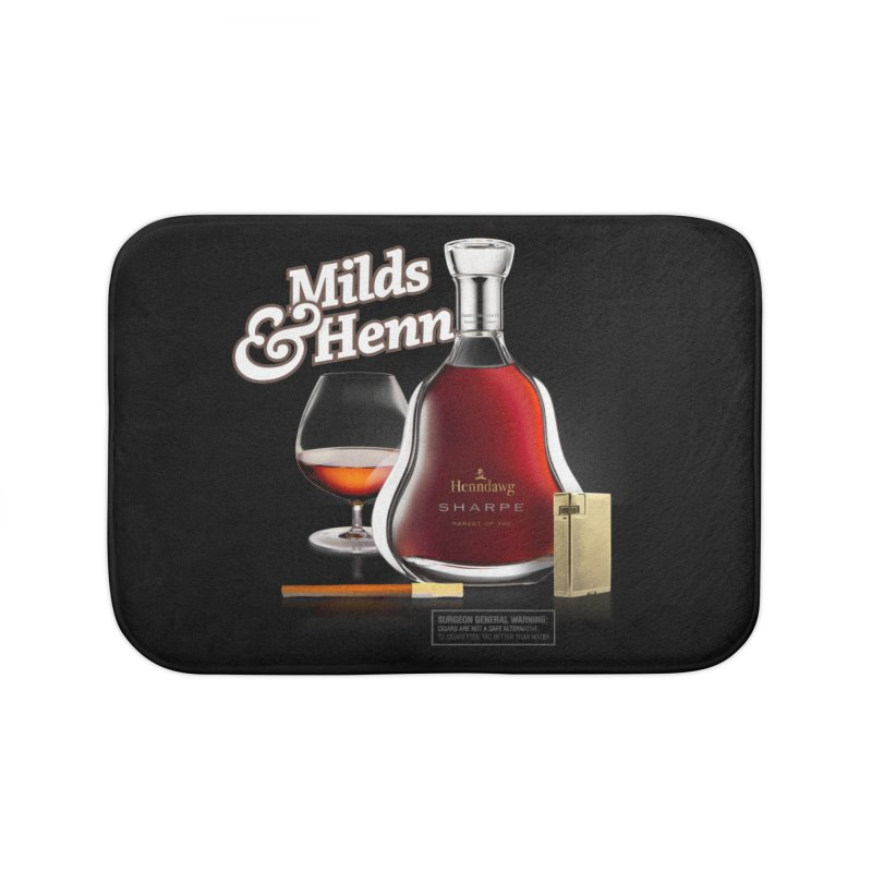 Milds & Henndawg Home Bath Mat by FWMJ's Shop