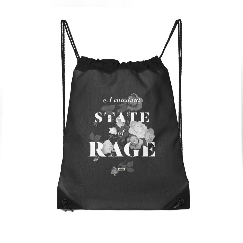 To Be Black and Conscious in America Accessories Drawstring Bag Bag by FWMJ's Shop