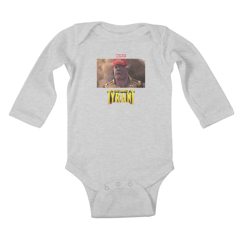 The Mad Tyrant (Red) Kids Baby Longsleeve Bodysuit by FWMJ's Shop