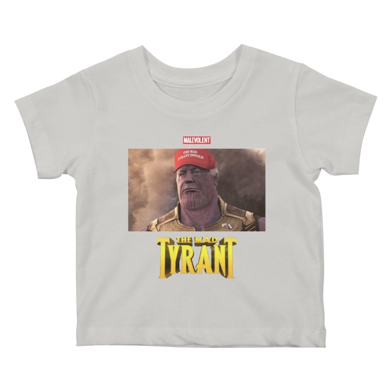 The Mad Tyrant (Red) Kids Baby T-Shirt by FWMJ's Shop