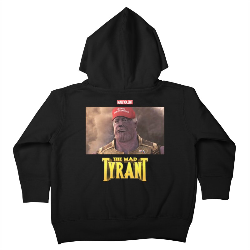 The Mad Tyrant (Red) Kids Toddler Zip-Up Hoody by FWMJ's Shop