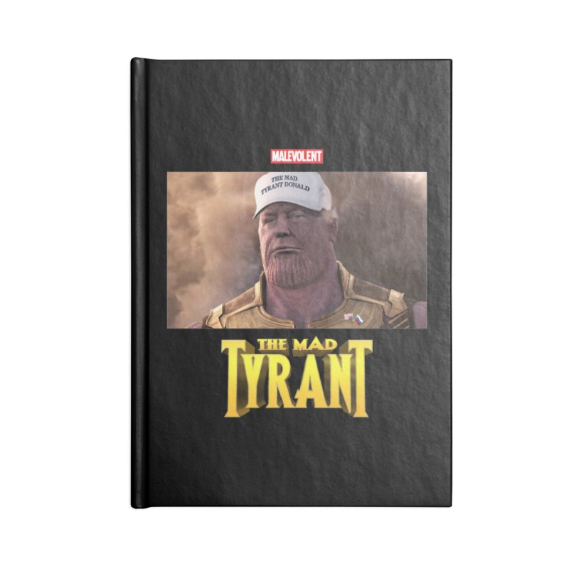 The Mad Tyrant (White) Accessories Notebook by FWMJ's Shop