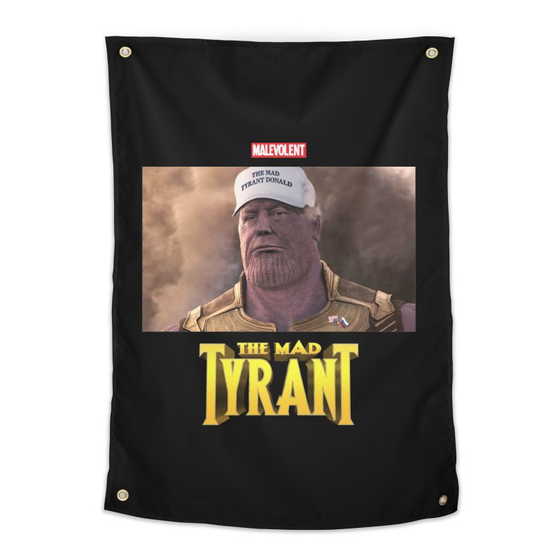 The Mad Tyrant (White) Home Tapestry by FWMJ's Shop