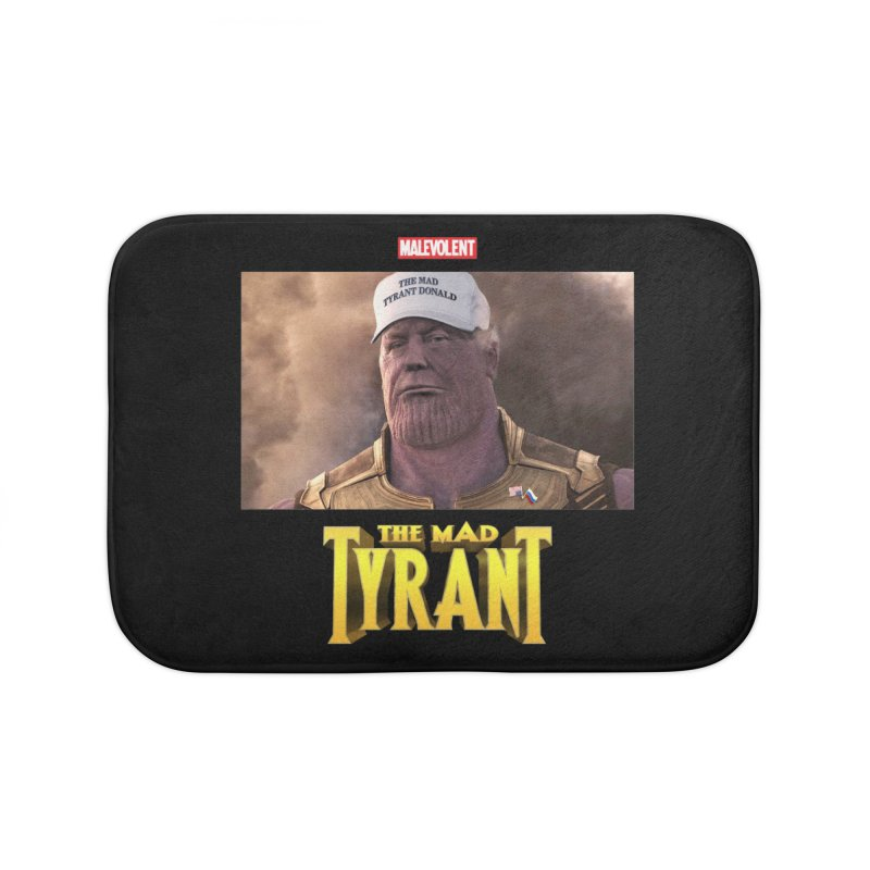 The Mad Tyrant (White) Home Bath Mat by FWMJ's Shop