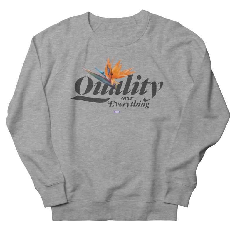 Quality  in Men's Sweatshirt Heather Graphite by FWMJ's Shop