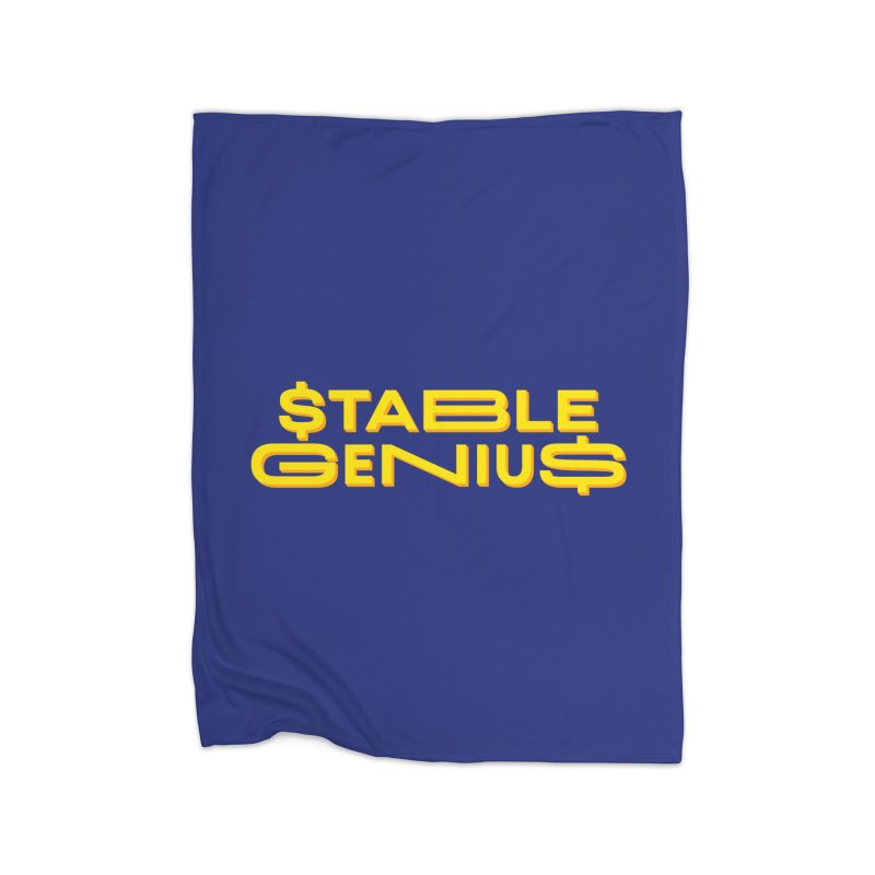Instability Home Fleece Blanket Blanket by FWMJ's Shop