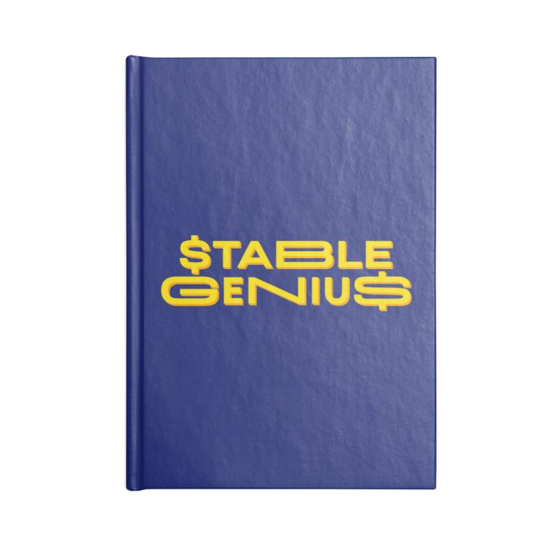Instability Accessories Blank Journal Notebook by FWMJ's Shop