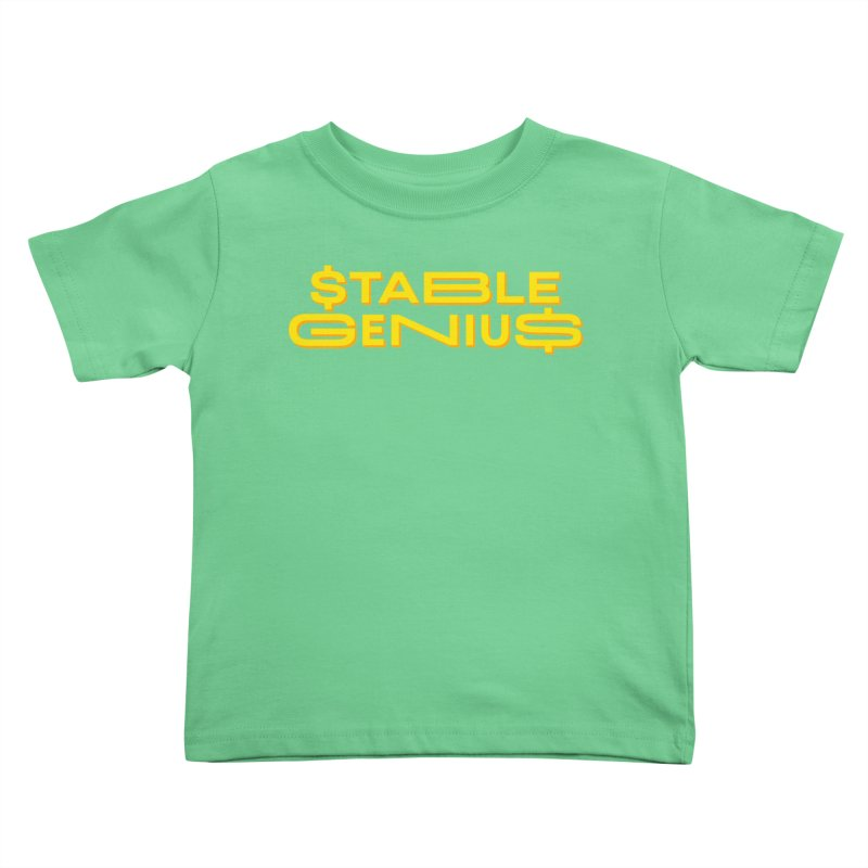 Instability Kids Toddler T-Shirt by FWMJ's Shop