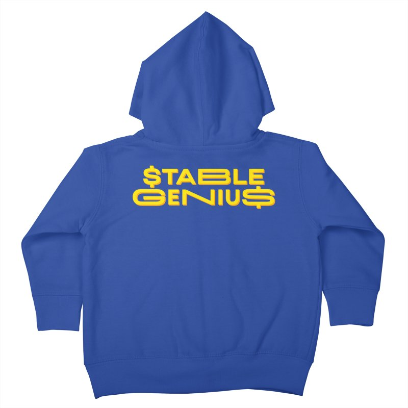 Instability Kids Toddler Zip-Up Hoody by FWMJ's Shop