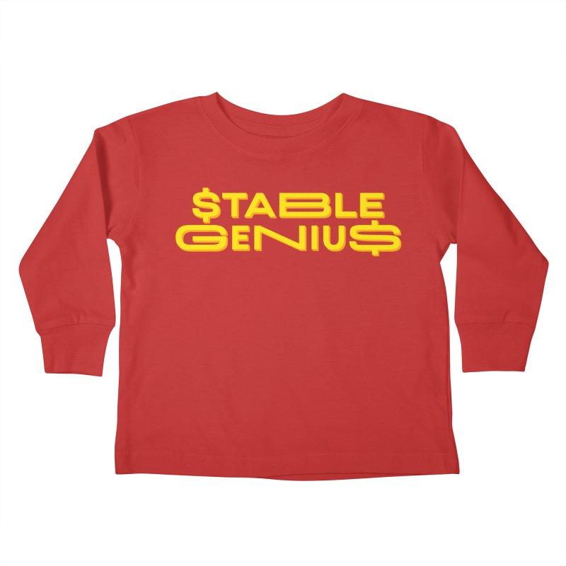 Instability Kids Toddler Longsleeve T-Shirt by FWMJ's Shop