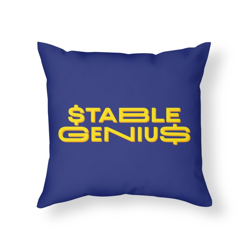 Instability Home Throw Pillow by FWMJ's Shop