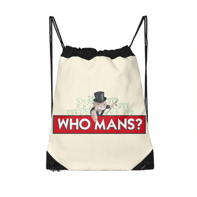 WHO MANS?! Accessories Bag by FWMJ's Shop