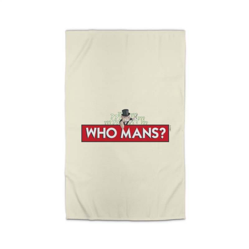 WHO MANS?! Home Rug by FWMJ's Shop