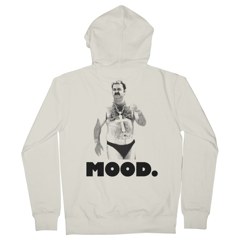 BIG MOOD. Women's French Terry Zip-Up Hoody by FWMJ's Shop