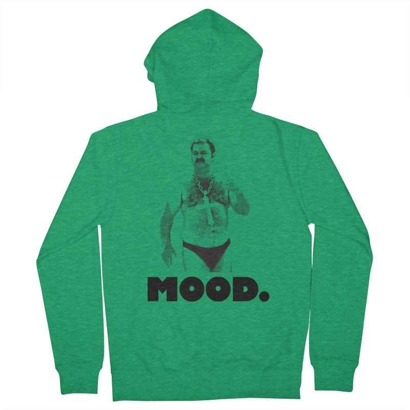 BIG MOOD. Men's French Terry Zip-Up Hoody by FWMJ's Shop