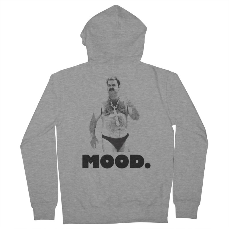 BIG MOOD. Men's Zip-Up Hoody by FWMJ's Shop