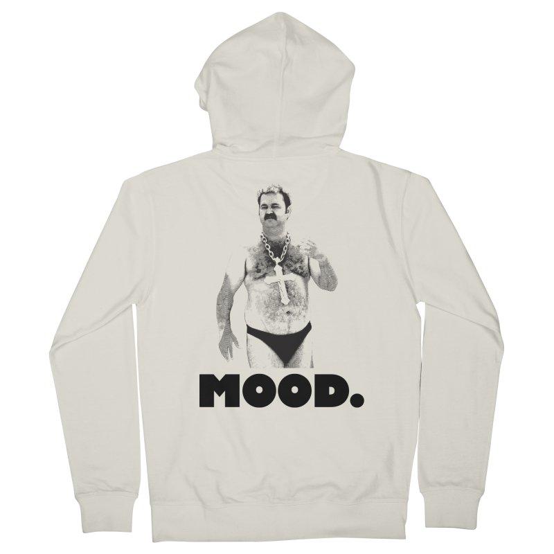 BIG MOOD. Men's Zip-Up Hoody by FWMJ's Shop