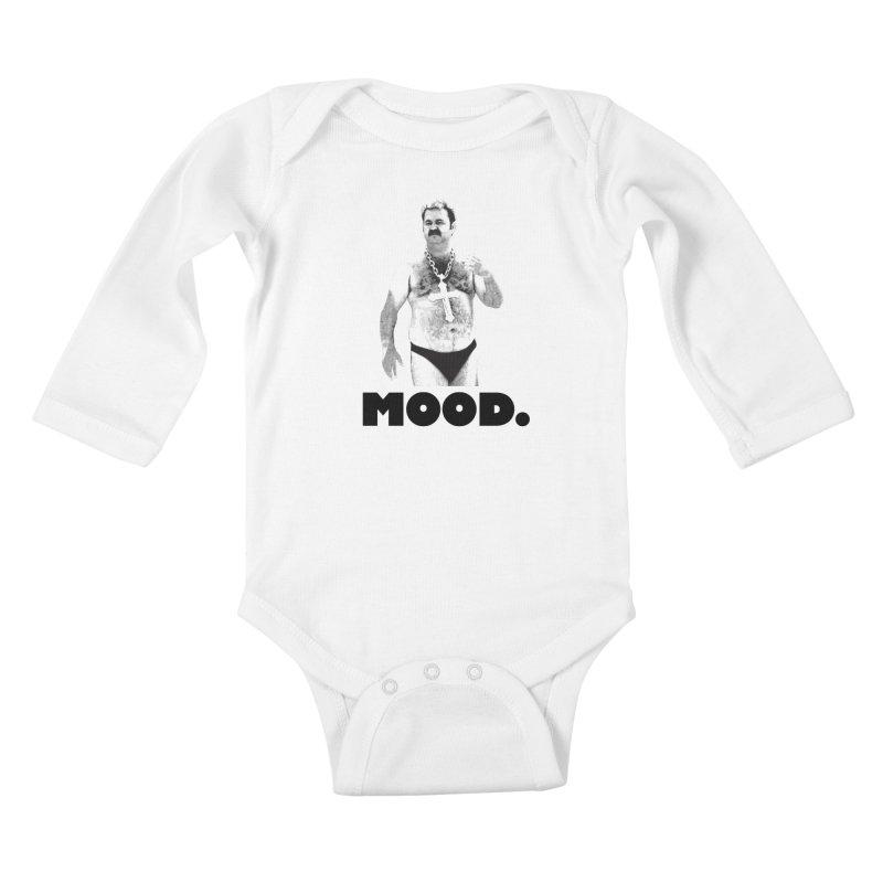 BIG MOOD. Kids Baby Longsleeve Bodysuit by FWMJ's Shop