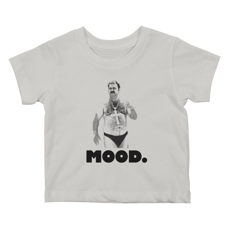 BIG MOOD. Kids Baby T-Shirt by FWMJ's Shop