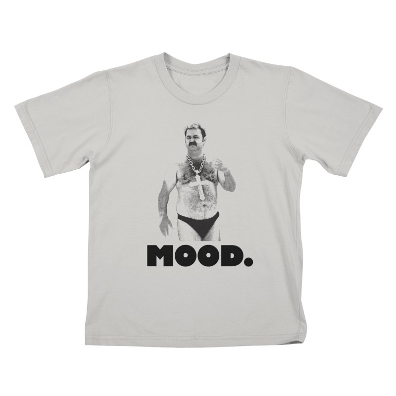 BIG MOOD. Kids T-Shirt by FWMJ's Shop