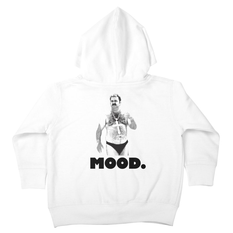 BIG MOOD. Kids Toddler Zip-Up Hoody by FWMJ's Shop